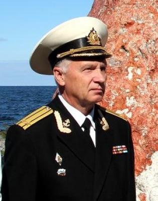 Визит в Петербург первого заместителя председателя Клуба ветеранов флота Таллина